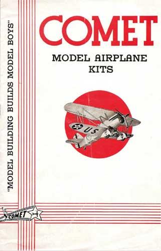 Comet Model Airplane Kits 1936 (RCL#1006)
