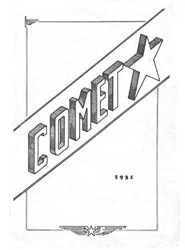 Comet 1931 (RCL#1034)