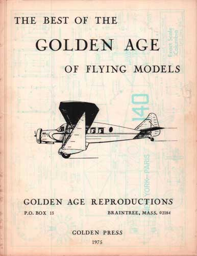Best of the Golden Age of Flying Models - cover thumbnail