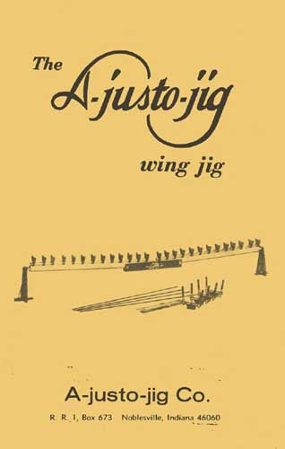 A-justo-jig wing jig Manual - cover thumbnail