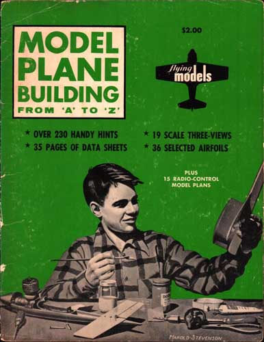 Model Plane Building From A to Z (RCL#1058)