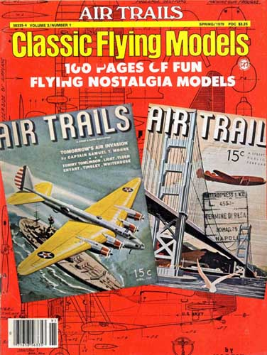 Air Trails: Classic Flying Models Spring 1979 (RCL#1066)