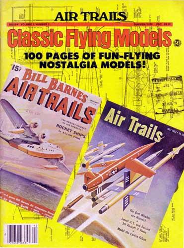 Air Trails: Classic Flying Models Summer 1979 (RCL#1077)