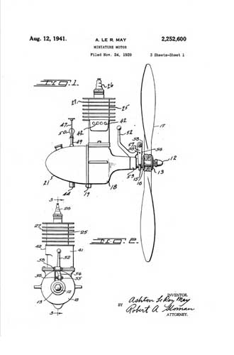 Patent: Miniature Motor  - click to view RCLibrary page