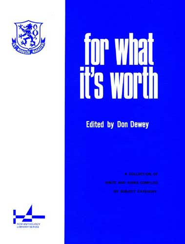 For What It's Worth  - click to view RCLibrary page