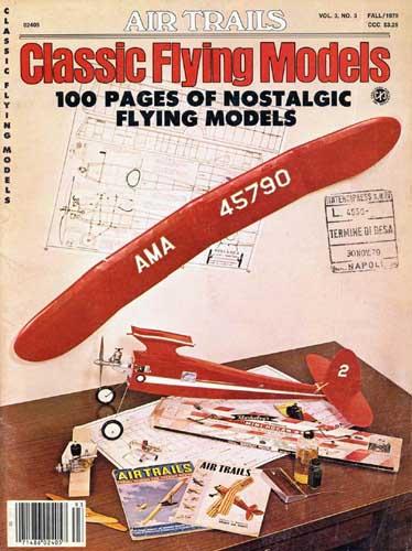 Air Trails: Classic Flying Models Fall 1979 (RCL#1090)