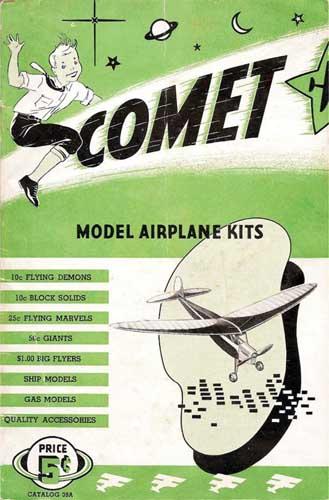 Comet Model Airplane Kits 1939 (RCL#1110)