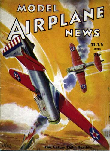 Model Airplane News 1936/05 May (RCL#1114)