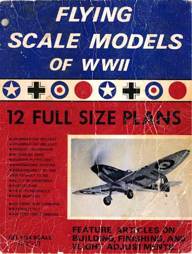 Flying Scale Models of WWII - cover thumbnail