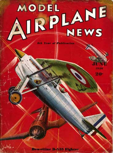Model Airplane News 1936/06 June (RCL#1125)