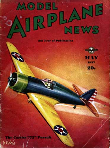 Model Airplane News 1937/05 May (RCL#1133)
