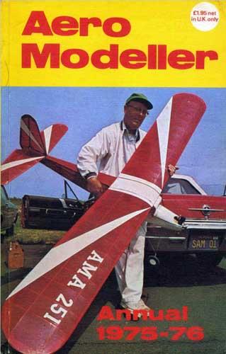 Aeromodeller Annual 1975-76 - cover thumbnail