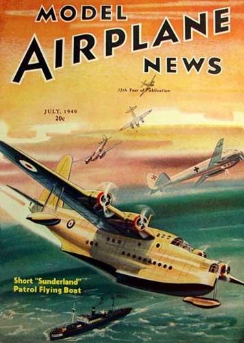 Model Airplane News 1940/07 July (RCL#1145)