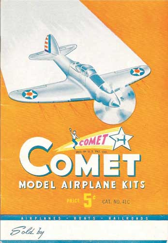Comet Model Airplane Kits 1941 (RCL#1149)