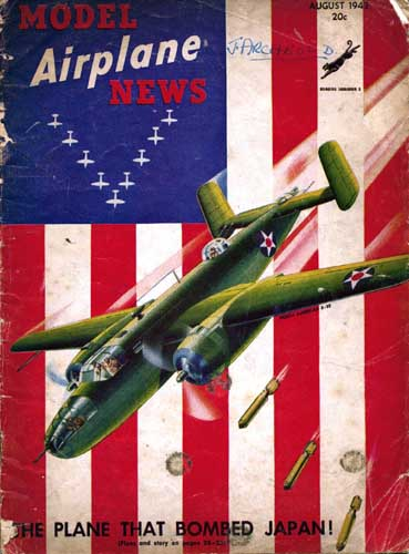 Model Airplane News 1942/08 August