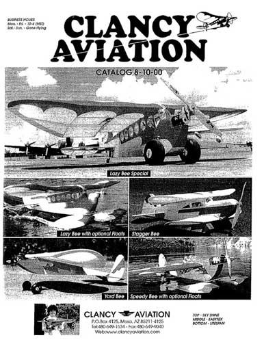 Clancy Aviation Catalog 2000 (RCL#1156)