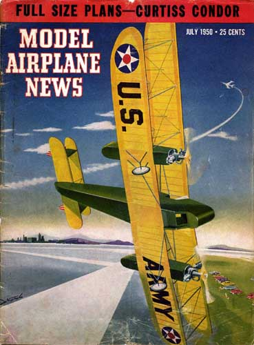Model Airplane News 1950/07 July