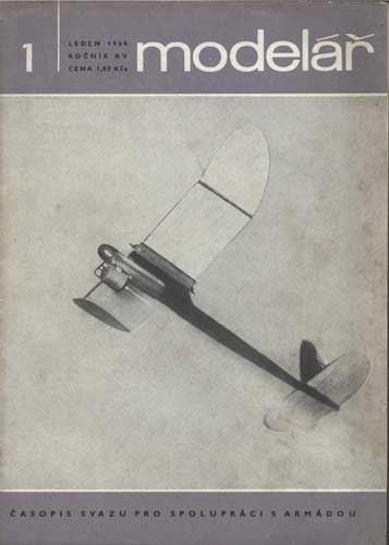 Model�ř/ Modelar 1964/01 January  - click to view RCLibrary page