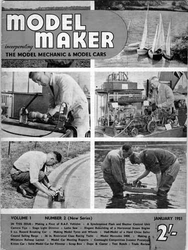 Model Maker 1951/01 January - cover thumbnail