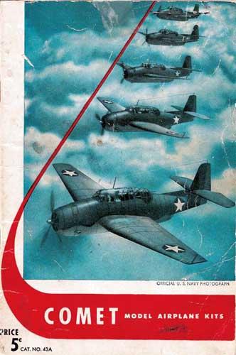 Comet Model Airplane Kits 1943 (RCL#1220)