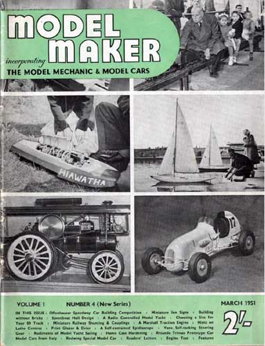 Model Maker 1951/03 March - cover thumbnail