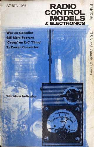 Radio Control Models & Electronics 1962/04 April - cover thumbnail