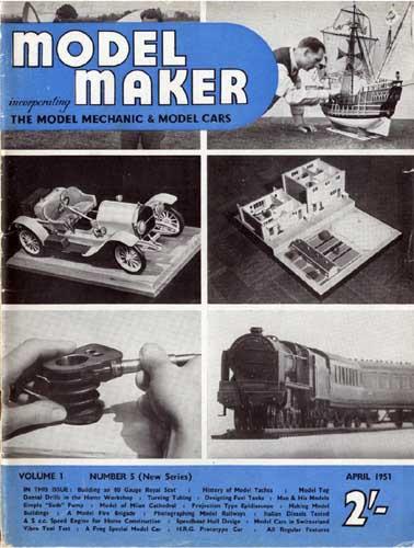 Model Maker 1951/04 April (RCL#1256)