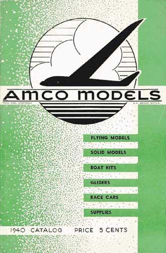 AMCO Models Catalog 1940 [Comet] (RCL#1258)