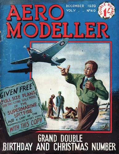 AeroModeller 1939/12 December - cover thumbnail
