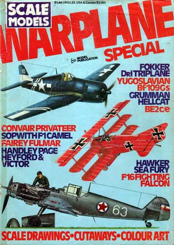 Scale Models Warplane Special - cover thumbnail