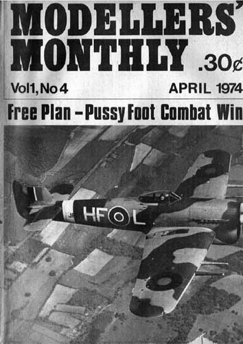 Modellers' Monthly 1974/04 April - cover thumbnail