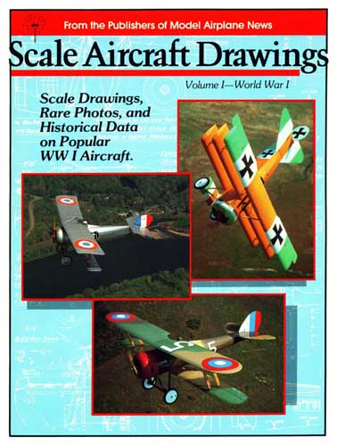 Scale Aircraft Drawings, Volume 1 - World War I