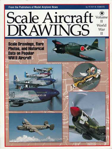 Scale Aircraft Drawings, Volume II - World War II