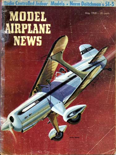 Model Airplane News 1959/05 May  - click to view RCLibrary page