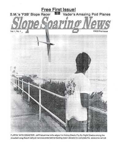 Slope Soaring News 1988/09 September