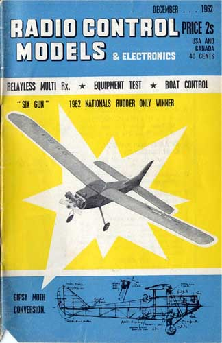 Radio Control Models & Electronics 1962/12 December - cover thumbnail