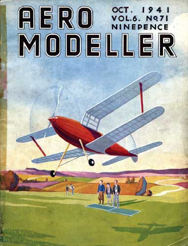 AeroModeller 1941/10 October - cover thumbnail