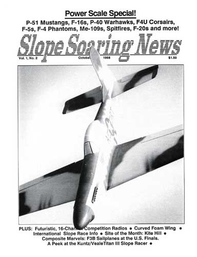 Slope Soaring News 1988/10 October