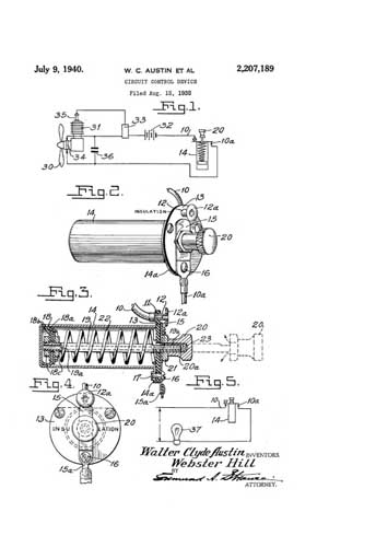 Patent: Circuit Control Device - cover thumbnail