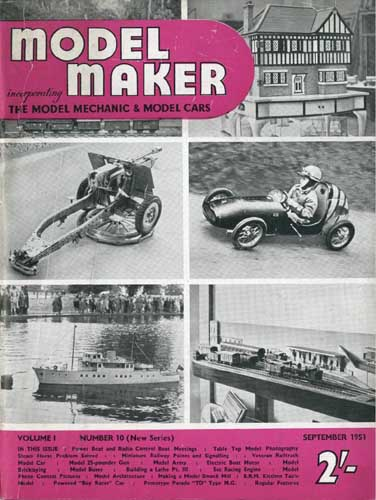 Model Maker 1951/09 September (RCL#1526)