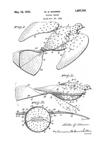 Patent: Flying Target  - click to view RCLibrary page