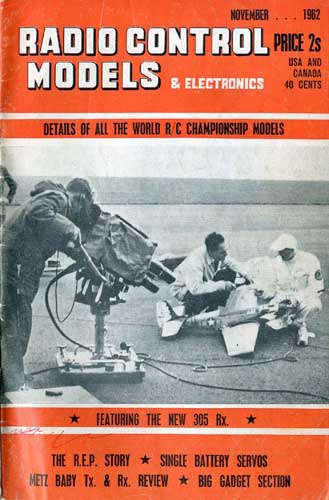Radio Control Models & Electronics 1962/11 November  - click to view RCLibrary page