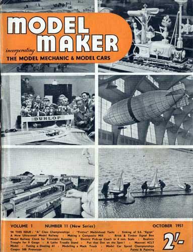 Model Maker 1951/10 October (RCL#1565)