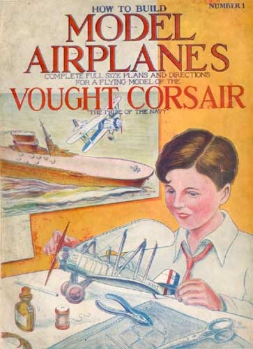 How to Build and Fly a Vought-Corsair (RCL#1574)