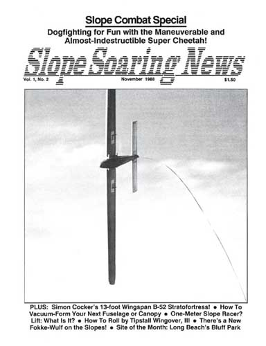 Slope Soaring News 1988/11 November