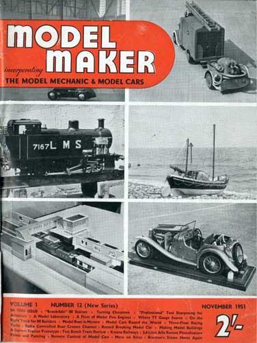 Model Maker 1951/11 November (RCL#1593)