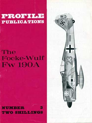 Profile Publications No. 3: Focke-Wulf Fw 190A  - click to view RCLibrary page