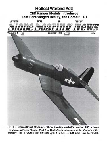 Slope Soaring News 1988/12 December