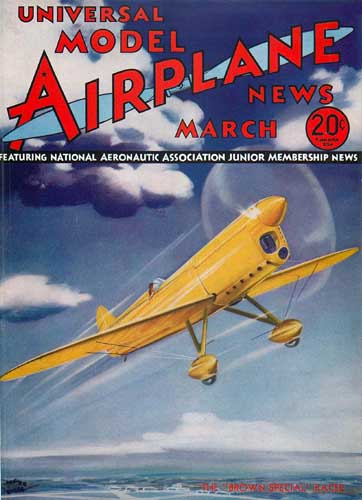 Model Airplane News 1935/03 - cover thumbnail