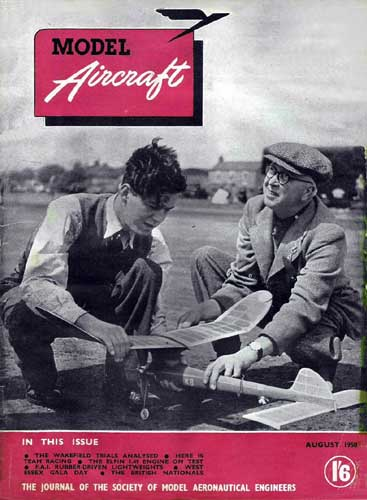 Model Aircraft 1950/08 August (RCL#1625)